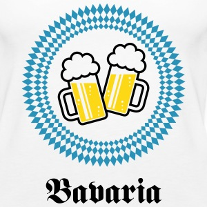Bavaria 2 Beer (Munich Germany) Tanks - Women's Premium Tank Top