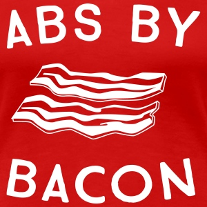Abs by bacon T-Shirts - Women's Premium T-Shirt