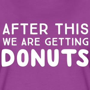 After this we are getting donuts T-Shirts - Women's Premium T-Shirt
