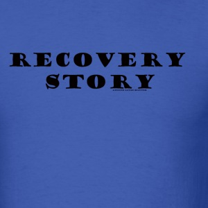 ALM Recovery story 1 T-Shirts - Men's T-Shirt