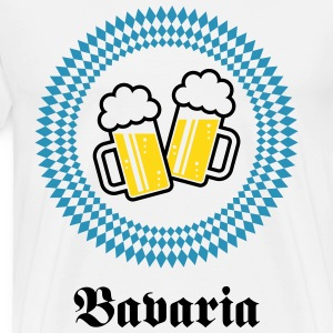 Bavaria 2 Beer (Munich Germany) T-Shirts - Men's Premium T-Shirt