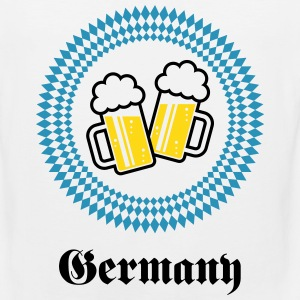Germany 2 Beer (Munich Bavaria) Sportswear - Men's Premium Tank