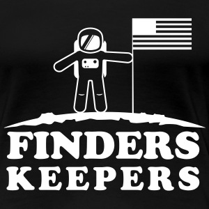 Moon. Finders keepers T-Shirts - Women's Premium T-Shirt