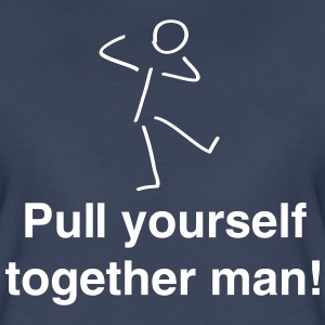 Pull yourself together (Stick Figure) T-Shirts - Women's Premium T-Shirt