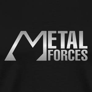 metal forces silver - Men's Premium T-Shirt