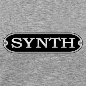 synth silver - Men's Premium T-Shirt