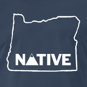 Native Oregonian T-Shirt - Men's Premium T-Shirt