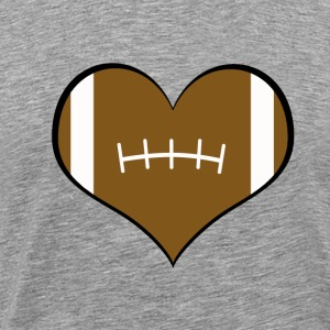 Men's Football Love Shirt - Men's Premium T-Shirt