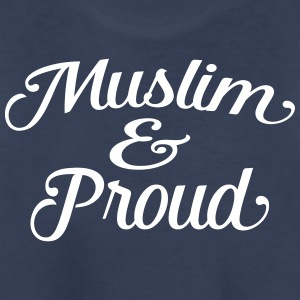 muslim and proud Kids' Shirts - Kids' Premium T-Shirt