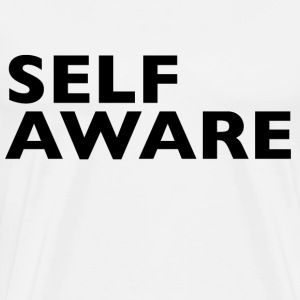 Self Aware - Men's Premium T-Shirt