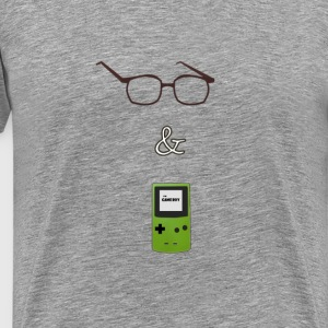 Jake and Amir Glasses GB T-Shirts - Men's Premium T-Shirt