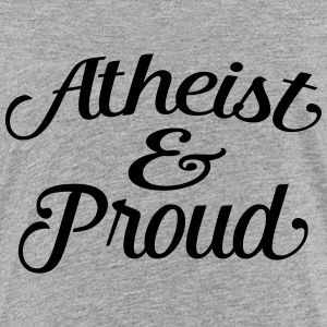atheist and proud Kids' Shirts - Kids' Premium T-Shirt