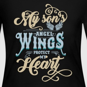 Son Angel Wings Shirt - Women's Long Sleeve Jersey T-Shirt