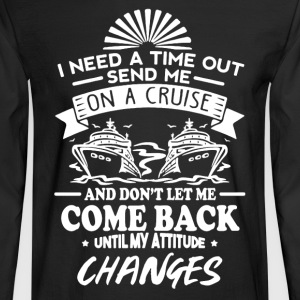 On A Cruise - Men's Long Sleeve T-Shirt