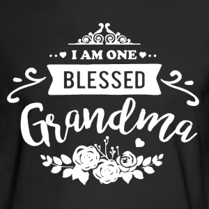 One Blessed Grandma Shirt - Men's Long Sleeve T-Shirt
