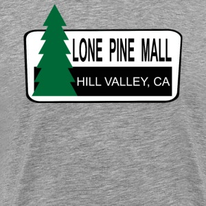 Back To The Future - Lone Pine Mall T-Shirts - Men's Premium T-Shirt