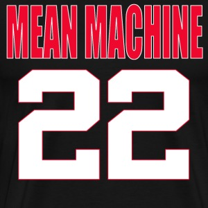 The Longest Yard - Mean Machine 22 T-Shirts - Men's Premium T-Shirt