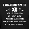 Paramedic's Wife Shirt - Women's T-Shirt