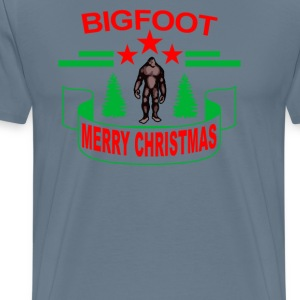bigfoot_merry_christmas_2016_ - Men's Premium T-Shirt