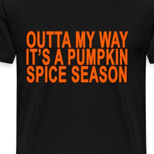 pumpkin_spice_season_ - Men's Premium T-Shirt