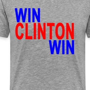 win_clinton_win_tshirt_ - Men's Premium T-Shirt