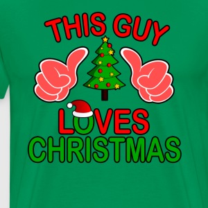 this_guy_loves_christmas_ - Men's Premium T-Shirt