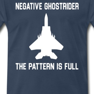 Negative Ghostrider The Pattern Is Full T-Shirts - Men's Premium T-Shirt