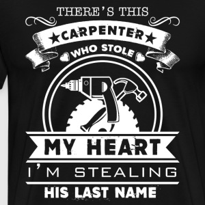 Carpenter Shirts - Men's Premium T-Shirt