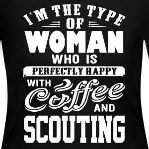 Woman Scout Shirt - Women's Long Sleeve Jersey T-Shirt
