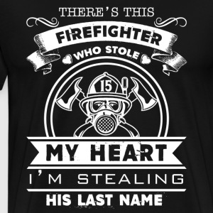 Firefighter Shirts - Men's Premium T-Shirt