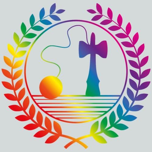 kendama rainbow