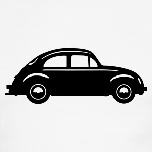 Beetle Car (in Profile) T-Shirts - Men's Ringer T-Shirt