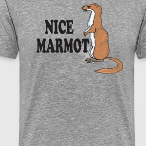 Nice Marmot - The Big Lebowski T-Shirts - Men's Premium T-Shirt