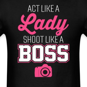 Photographer Like A Boss Women's T-Shirt  - Men's T-Shirt
