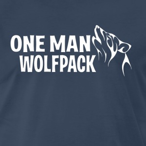 One Man Wolf Pack - The Hangover T-Shirts - Men's Premium T-Shirt