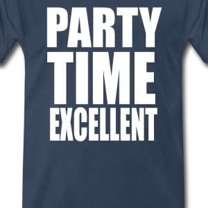 Wayne's World - Party Time Excellent T-Shirts - Men's Premium T-Shirt