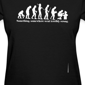 iEvolution Something Somewh - Women's T-Shirt