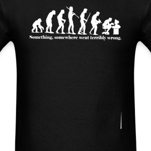 iEvolution Something Somewh - Men's T-Shirt