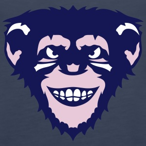 animal monkey ape chimpanzee 107 Tanks - Women's Premium Tank Top