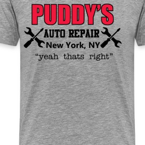 Puddy's Auto Repair - Seinfeld T-Shirts - Men's Premium T-Shirt