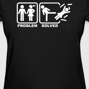 Problem Solved funny - Women's T-Shirt