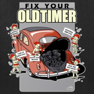 Fix your Oldtimer (V.1) Bags & backpacks - Tote Bag