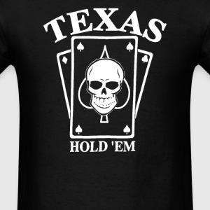 TEXAS HOLD EM Poker - Men's T-Shirt