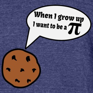 Pi Geek Cookie T-Shirts - Unisex Tri-Blend T-Shirt by American Apparel