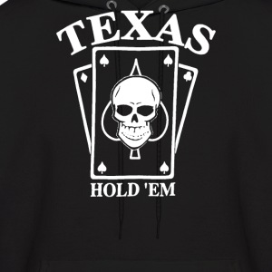 TEXAS HOLD EM Poker - Men's Hoodie
