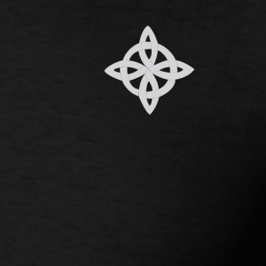 Black and white celtic cross - Men's T-Shirt