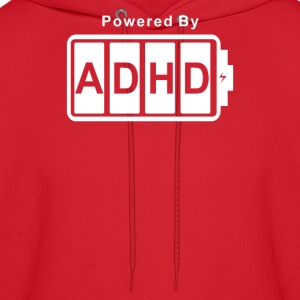 Battery Powered ADHD - Men's Hoodie