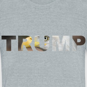 Trump - American Bald Eagle - Unisex Tri-Blend T-Shirt by American Apparel