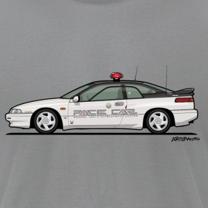Alcyone SVX Kenkyo Subaru Test Center T-Shirts - Men's T-Shirt by American Apparel