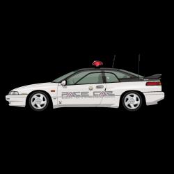 Alcyone SVX Subaru Kenkyo Test Center Pace Car